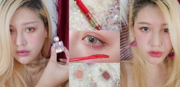 戀愛魔鏡秋冬新品|華麗又清新的秋季紅色眼妝打造不一樣的自己,甜心眼影新色全試色X超現實激長睫毛膏紅色限定版