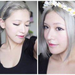 「編髮」簡單步驟迎戰夏天,清爽女神系低盤髮教學X2