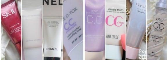 「彩妝」開架、專櫃、網路品牌各種妝效,8款CC霜一字排開大評比!