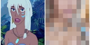 「妝容」迪士尼公主系列妝容第六彈,亞特蘭提斯的野性公主姬塔仿妝