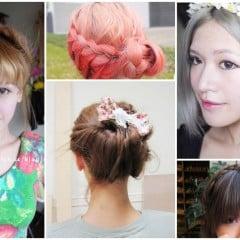 「編髮」手殘也能自己搞定,精選7款新娘、伴娘浪漫編髮教學