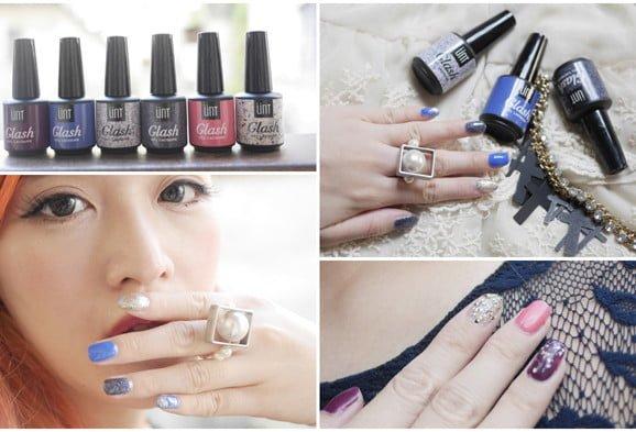 「指彩」手殘女孩也能打造華麗指彩,UNT嬌滴滴光療異材質的華麗冒險試色