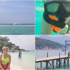 「遊記」泰國蘇美/蘇梅島最接近天堂的摩西之路,海鷗島/龜島超透明海灘浮潛跳島去