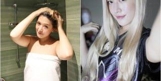 「美髮」個性染燙漂髮女孩的光澤秘密,Saholea森歐黎漾水漾薔薇系列植萃輕感洗髮露/果油護髮精華素