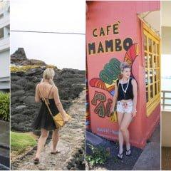 「私服」手臂/大腿/屁股/小腹,微胖肉肉厚片女孩的夏威夷海島蜜月超便宜淘寶洋裝顯瘦穿搭