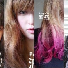 「變髮」染髮漂髮染特殊色一定要知道的事情大解惑: 會不會傷髮質/怎麼保養、照顧/頭皮會不會痛