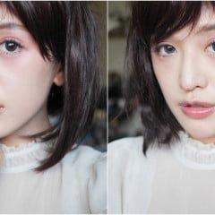 「妝容」意想不到的清新透明,日本妹當紅輕感微醺宿醉妝教學