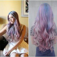 「變髮」粉紅X粉紫X粉藍,詢問度破表的夢幻彩虹獨角獸髮色漂髮/染髮全記錄