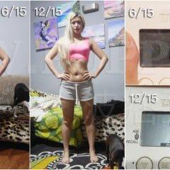 「瘦瘦」波痞的超寫實厚片女減肥塑身運動飲食週記:滿六個月成果發表,第二十七週12/14~12/20