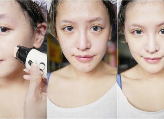 「彩妝」滾出美肌修片模式,超平價的heme HD美肌滾輪CC霜&修片達人雙色遮瑕霜開箱試用報告