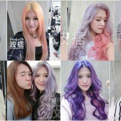 「變髮」頭髮一直變不停,2015~2016年波痞的8種彩虹特殊髮色回顧懶人包