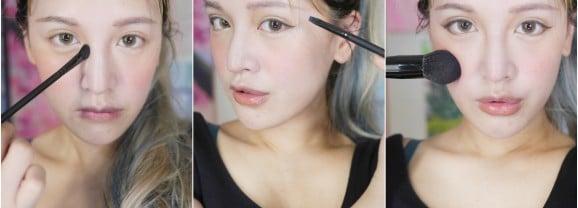 「彩妝」初學者必敗平價入門好用刷具,L.A.B.2美國加州專業刷具-遮瑕刷/腮紅刷/眉刷/眼影刷/眼線刷