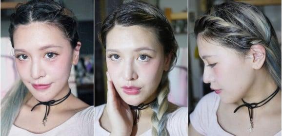 「編髮」看起來很厲害華麗其實很簡單,三款手殘必看夏日超清爽瀏海扭轉編髮教學