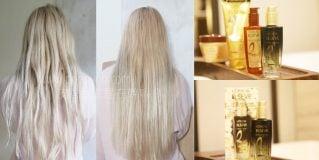 「美髮」C/P值最高、網路最好評推薦護髮神品,巴黎萊雅金緻護髮精油/2017年度限定白花護髮精油