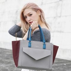 「穿搭」一次滿足法式經典與現代潮流的質感百搭包款,LANCASTER Paris簡約美型蝴蝶包