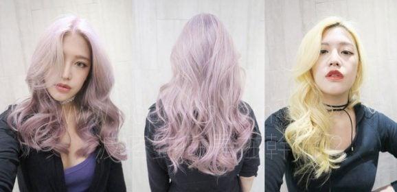 「變髮」乾燥繡球花&巨星米金雙髮色全記錄,染髮/漂髮/剪髮/卸色/特殊色心得分享