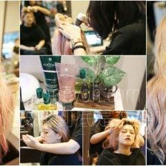 「美髮」給你健康頭皮與天使光圈秀髮,RF荷那法蕊頭皮護理課程&LUMICIA櫻桃粉漾燦光系列(頭皮按摩+去角質+洗護)