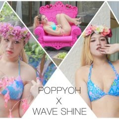 「穿搭」時尚性感又可愛的平價版美波神器,今年夏天一定要擁有一件WAVE SHINE美波比基尼