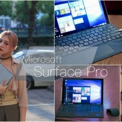 「3C」強力推薦給創作者與行動工作者!結合平板/筆電/繪圖板的時尚輕巧強大筆電Surface Pro開箱心得報告