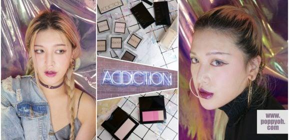 「彩妝」108種無瑕粉底/色號任君挑選X兩款時髦個性上癮妝教學|ADDICTION奧可玹癮耀顏水凝粉霜