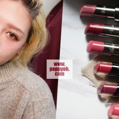 開架唇膏推薦|顯色滋潤比在日本買還便宜,Visée果凍夾心唇膏、絕色濃唇膏年度熱賣色實擦試色給你看