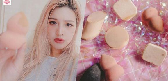 粉撲海綿美妝蛋清洗方法:微波爐可以把化妝海綿洗得超乾淨超清潔?網路謠言是真是假直接測試給你看!