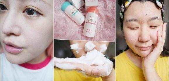 痘痘粉刺救星,敏弱肌也能輕鬆去角質好物推薦!天天都能使用的酵素洗臉產品-來自日本的木瓜酵素Papafresh微酵潔膚粉/經典型/透白型