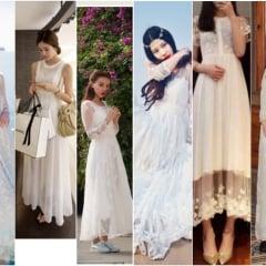 「愛買」結婚/蜜月/自助婚紗穿搭造型必看,夢幻復古蕾絲女神長洋裝欲望清單