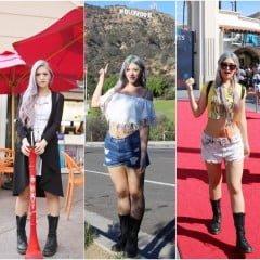「穿搭」歐美風的夏季顯瘦穿搭,LA+Las Vegas自由行5套重複服裝搭配
