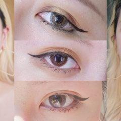 隱形眼鏡推薦 展現完美深邃眼眸!星眸彩色日拋心機系列新色實戴心得/心機玫瑰/心機藍莓/心機抹茶