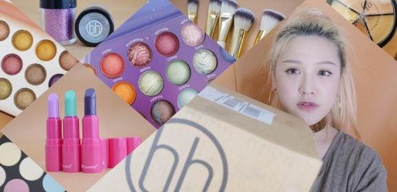 彩妝戰利品開箱:超便宜美國品牌BH Cosmetic,台幣60元起買到失去理智|單色眼影/眼影盤/遮瑕盤/霓虹光打亮盤/唇膏/仿曬劑/刷具組/唇頰兩用霜